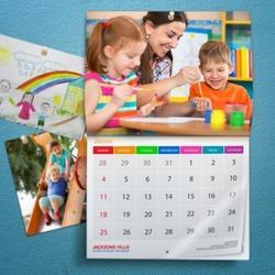 Variable Wall Calendar Printing Services, in Mumbai, Dimension / Size: Standard
