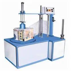 Stretch Wrapping Machine With Pressarbar