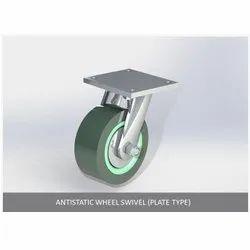 Antistatic Wheel Swivel Plate Type