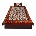 Jaipuri Colorful Single Bedsheet Set 416