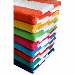 Cotton Stripes Pool Towel