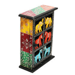Rawsome Shack Antique Wooden Makeup Box