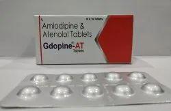 Amlodipine 5 mg, Atenolol 50 mg