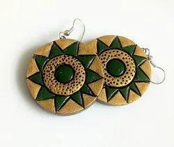 Terracotta Designer Earrings