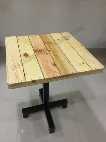 Cafe Hotel Restaurant 2x2 Pinewood Table (Wholesale Price Manufacturer)