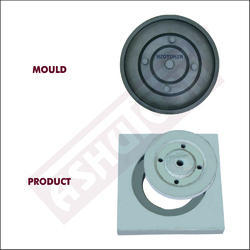 Round Manhole Cover Dia 215 x 25 mm with 4 Hole (Gali Trap)