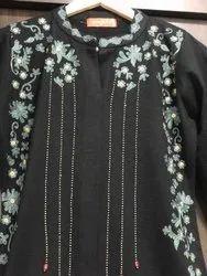 Full Length Casual Woolen Kurti