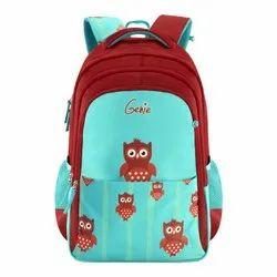 Genie Printed School Bag, For Casual Backpack