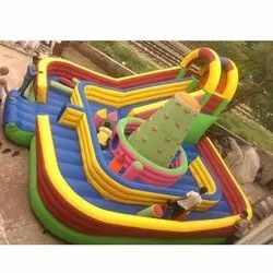 Bouncy Monkey Inflatable Slide Bounce