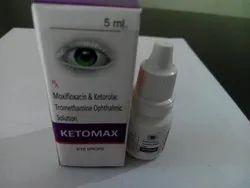 Moxifloxacin0.5%,Ketrolac Tromethamine0.4%