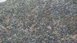 Brown Polished Honey Blue Granite Slab, for Flooring, Thickness: 15-20 mm