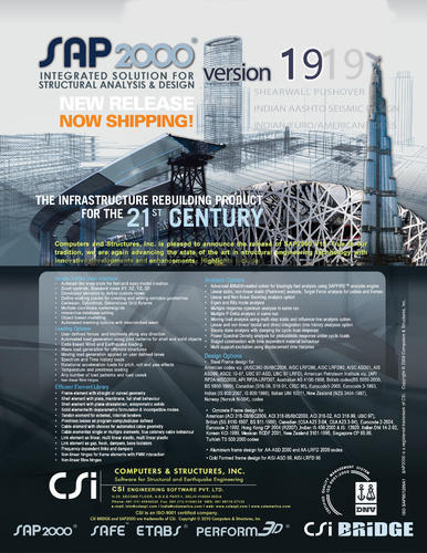 Design and Detailing software - CSI Bridge Software