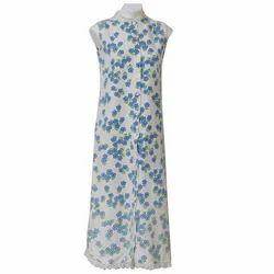 Cotton Printed Night Dress, Size: S & M