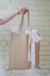 Jute Flat Bag