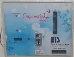Fully Automatic Sanitary Napkin Vending Machine for Schools & Colleges