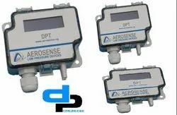 Aerosense Model DPT 2500-R8-3W Differential Pressure Transmitter Range 0-1500 Pascal