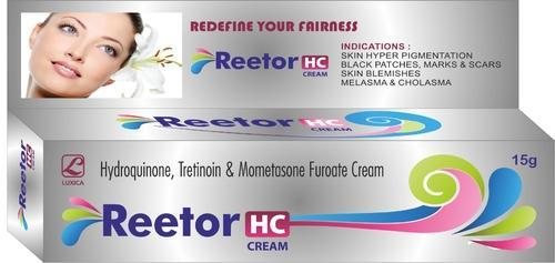 Luxica Reetor HC Cream, Packaging Size: 15 G, Packaging Type: Tube