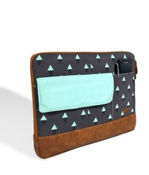 Caris Triangle Printed Laptop Sleeve