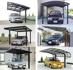 Parking Shed Polycarbonate Roof
