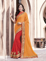 Lace Border Half Saree