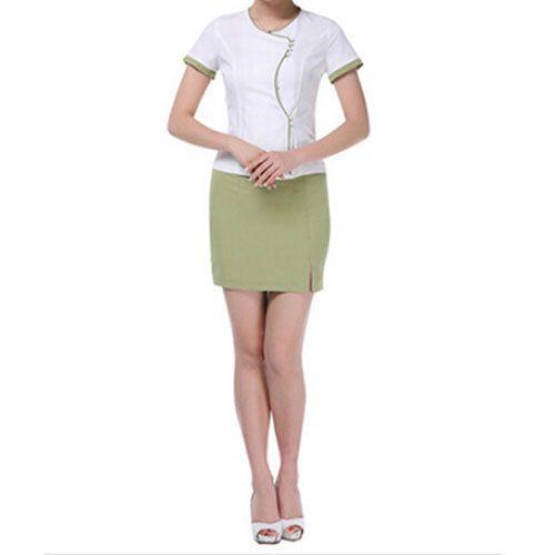 Spandex hotel spa uniform rs 550 set amit tailors id for Spa uniform buy