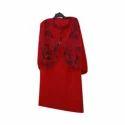 Ladies Red Woolen Kurti