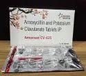 Amoxicillin 500 mg Clavulanic Acid 125 mg Tab