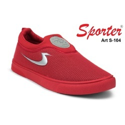 Sporter Men/Boys Red S-104 Loafers Shoes