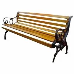 M.S Wooden Finish Benches
