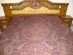 Wool Jamawar Bed Spreads