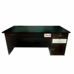 Wooden Brown 2 Drawers Office Table, Size: 72*36*30