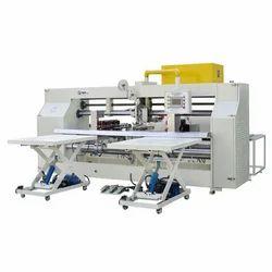 Semi Automatic Box Stitching Machine - Carton Box Stitching Machine
