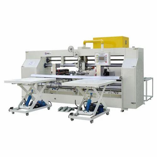 Semi Automatic Box Stitching Machine Carton Box