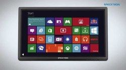 Interactive Flat Touch Panel