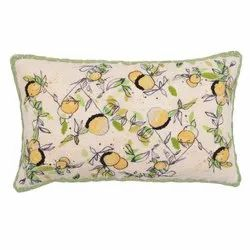 Exclusive Embroidered Cotton Pillow Cover