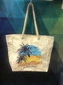 Canvas Bag With Beach Print