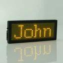 LED Name Badge