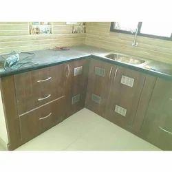 Wood Modulo And Kitchen