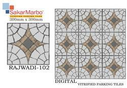 Rajwadi-102 Digital Vitrified Parking Tiles