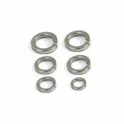Metal Coated Stainless Steel Spring Washer, Size: 25mm To 35mm