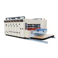 Flexo Printer And Slotter Machine