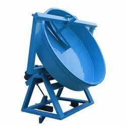 Pan Disc Fertilizer Granulation Machine