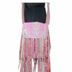 Cotton Pink Designer Side Bag SB10007