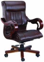 7206 Revolving Medium Back Chair