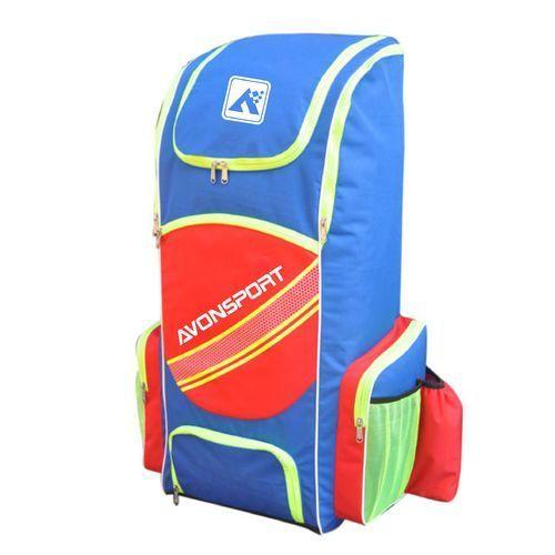 643c58b0c780 Avon Bag Polyester Avon Sport Blue Orange cricket Sports Large Duffel Bag
