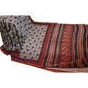 Chanderi Printed Sarees With Blouse