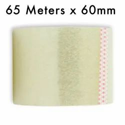 Transparent Self Adhesive Tape Thickness 65 Meters in Length 60mm / 2.5