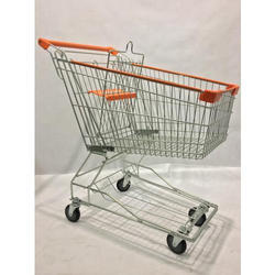 Stainless Steel Shopping Trolly