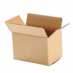Brown Rectangular Corrugated Packaging Carton Boxes
