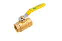 Brass Finish Ball Valve
